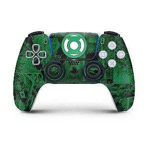 Skin PS5 Controle - Lanterna Verde Comics