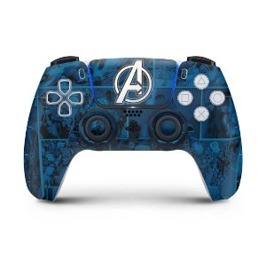 Skin PS5 Controle - Avengers Vingadores Comics