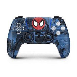 Skin PS5 Controle - Homem-Aranha Spider-Man Comics