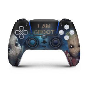 Skin PS5 Controle - Baby Groot