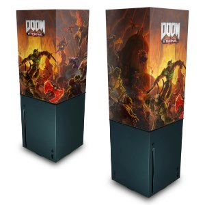 Xbox Series X Capa Anti Poeira - Doom Eternal