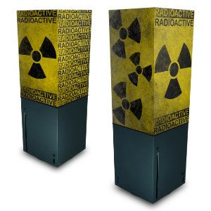 Xbox Series X Capa Anti Poeira - Radioativo