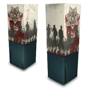 Xbox Series X Capa Anti Poeira - The Walking Dead