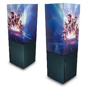 Xbox Series X Capa Anti Poeira - Vingadores Ultimato Endgame