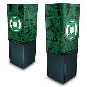 Xbox Series X Capa Anti Poeira - Lanterna Verde Comics
