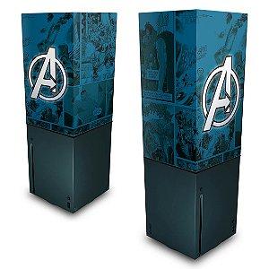 Xbox Series X Capa Anti Poeira - Avengers Vingadores Comics