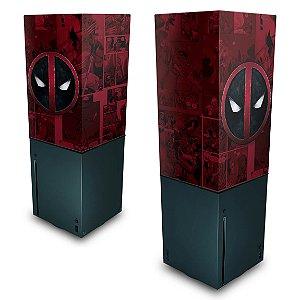 Xbox Series X Capa Anti Poeira - Deadpool Comics