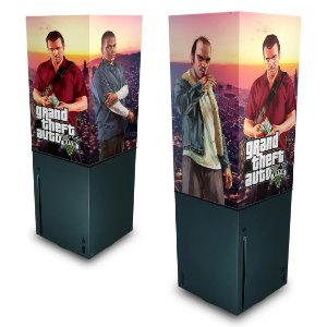 Xbox Series X Capa Anti Poeira - GTA V