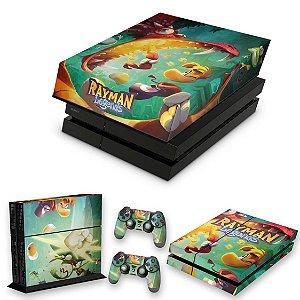 KIT PS4 Fat Skin e Capa Anti Poeira - Rayman Legends
