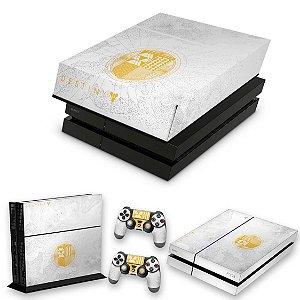 KIT PS4 Fat Skin e Capa Anti Poeira - Limited Edition Destiny