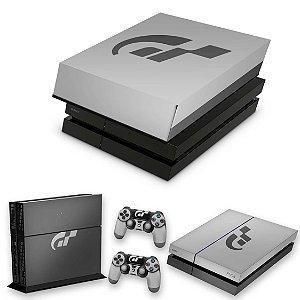 KIT PS4 Fat Skin e Capa Anti Poeira - Gran Turismo Editon