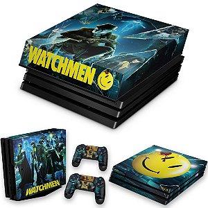KIT PS4 Pro Skin e Capa Anti Poeira - Watchmen