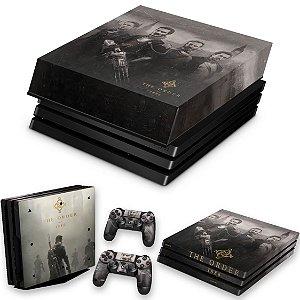 KIT PS4 Pro Skin e Capa Anti Poeira - The Order