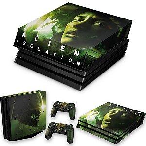 KIT PS4 Pro Skin e Capa Anti Poeira - Alien Isolation