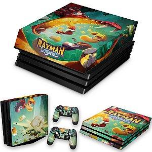 KIT PS4 Pro Skin e Capa Anti Poeira - Rayman Legends