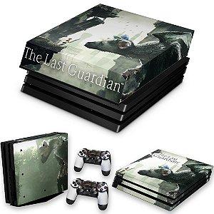 KIT PS4 Pro Skin e Capa Anti Poeira - The Last Guardian