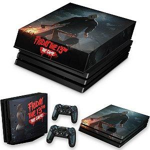 KIT PS4 Pro Skin e Capa Anti Poeira - Friday The 13Th The Game Sexta-Feira 13