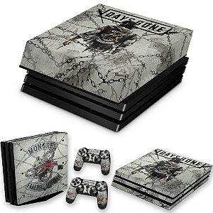 KIT PS4 Pro Skin e Capa Anti Poeira - Days Gone