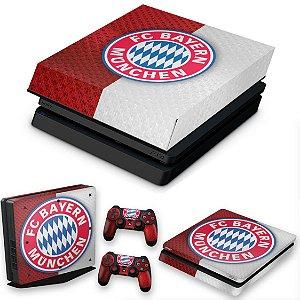 KIT PS4 Slim Skin e Capa Anti Poeira - Bayern