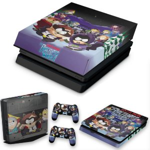 KIT PS4 Slim Skin e Capa Anti Poeira - South Park: The Fractured But Whole