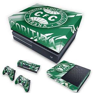KIT Xbox One Fat Skin e Capa Anti Poeira - Coritiba