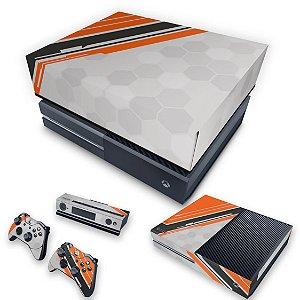 KIT Xbox One Fat Skin e Capa Anti Poeira - Titanfall Edition