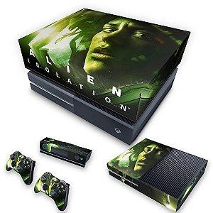 KIT Xbox One Fat Skin e Capa Anti Poeira - Alien Isolation