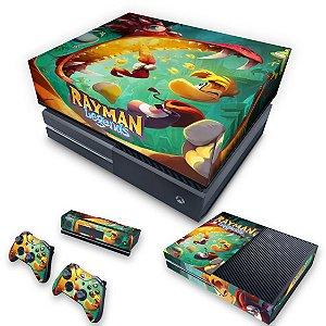 KIT Xbox One Fat Skin e Capa Anti Poeira - Rayman Legends