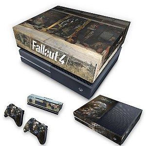 KIT Xbox One Fat Skin e Capa Anti Poeira - Fallout 4