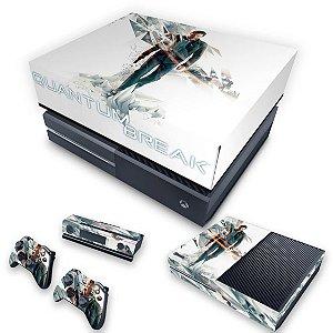 KIT Xbox One Fat Skin e Capa Anti Poeira - Quantum Break