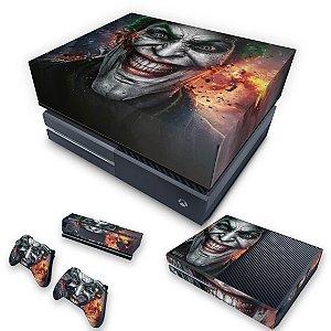KIT Xbox One Fat Skin e Capa Anti Poeira - Coringa - Joker #A