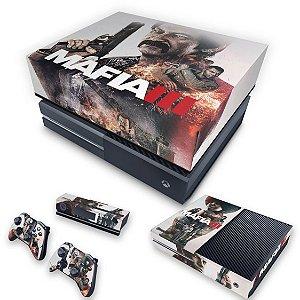 KIT Xbox One Fat Skin e Capa Anti Poeira - Mafia 3