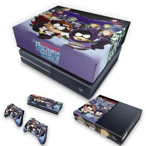 KIT Xbox One Fat Skin e Capa Anti Poeira - South Park: The Fractured But Whole