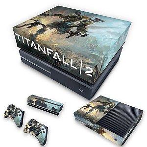 KIT Xbox One Fat Skin e Capa Anti Poeira - Titanfall 2