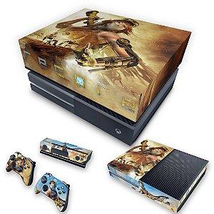 KIT Xbox One Fat Skin e Capa Anti Poeira - Recore