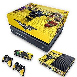 KIT Xbox One Fat Skin e Capa Anti Poeira - Lego Batman