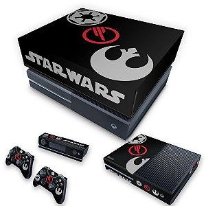 KIT Xbox One Fat Skin e Capa Anti Poeira - Star Wars Battlefront 2 Edition