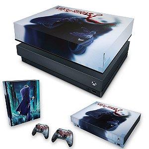 KIT Xbox One X Skin e Capa Anti Poeira - Coringa - Joker