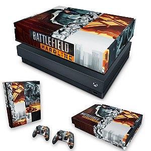 KIT Xbox One X Skin e Capa Anti Poeira - Battlefield Hardline