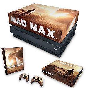 KIT Xbox One X Skin e Capa Anti Poeira - Mad Max