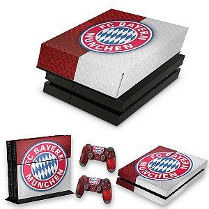 KIT PS4 Fat Skin e Capa Anti Poeira - Bayern
