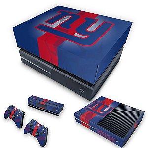 KIT Xbox One Fat Skin e Capa Anti Poeira - New York Giants - NFL