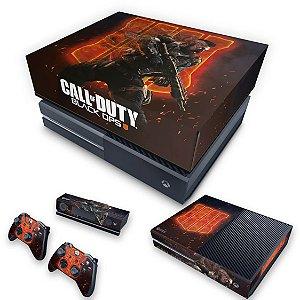 KIT Xbox One Fat Skin e Capa Anti Poeira - Call of Duty Black ops 4