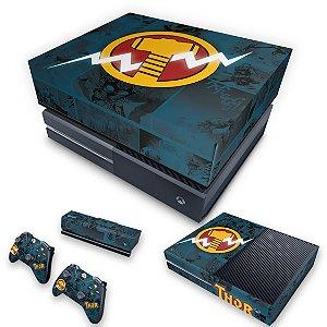 KIT Xbox One Fat Skin e Capa Anti Poeira - Thor Comics