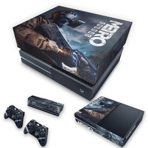 KIT Xbox One Fat Skin e Capa Anti Poeira - Metro Exodus