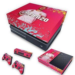 KIT Xbox One Fat Skin e Capa Anti Poeira - FIFA 20