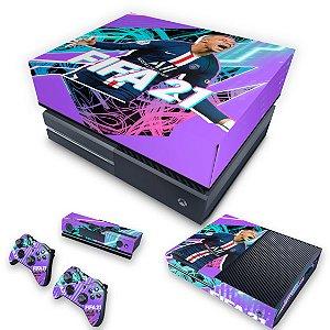 KIT Xbox One Fat Skin e Capa Anti Poeira - FIFA 21