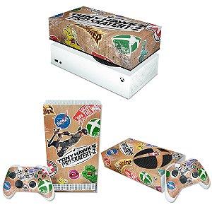 KIT Xbox Series S Skin e Capa Anti Poeira - Tony Hawk's Pro Skater