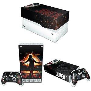 KIT Xbox Series S Skin e Capa Anti Poeira - Joker Filme