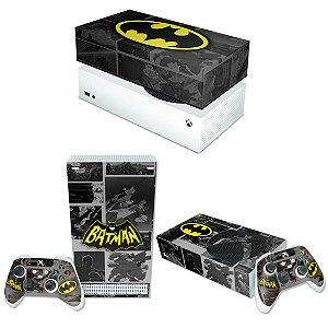 KIT Xbox Series S Skin e Capa Anti Poeira - Batman Comics